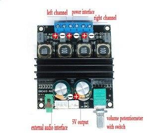 Image 3 - DC 12В 24В TPA3116D2 Hifi 2,0 каналов 100 Вт + 100 Вт стерео аудио Мощность цифровая плата усилителя