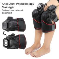 1Pairs Knee Joint Physiotherapy Massager Knee Arthritis Pain Relief Knee Rehabilitation Magnet Vibration Heating Massage Machine