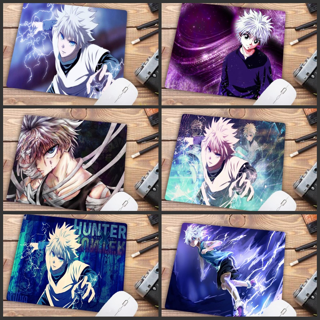 Mairuige Big Promotion Hunter X Hunter Killua Beautiful Anime Mouse Mat Mouse Keyboards Mat Mousepad for Boyfriend mat 22X18CM retro orlando magic shorts