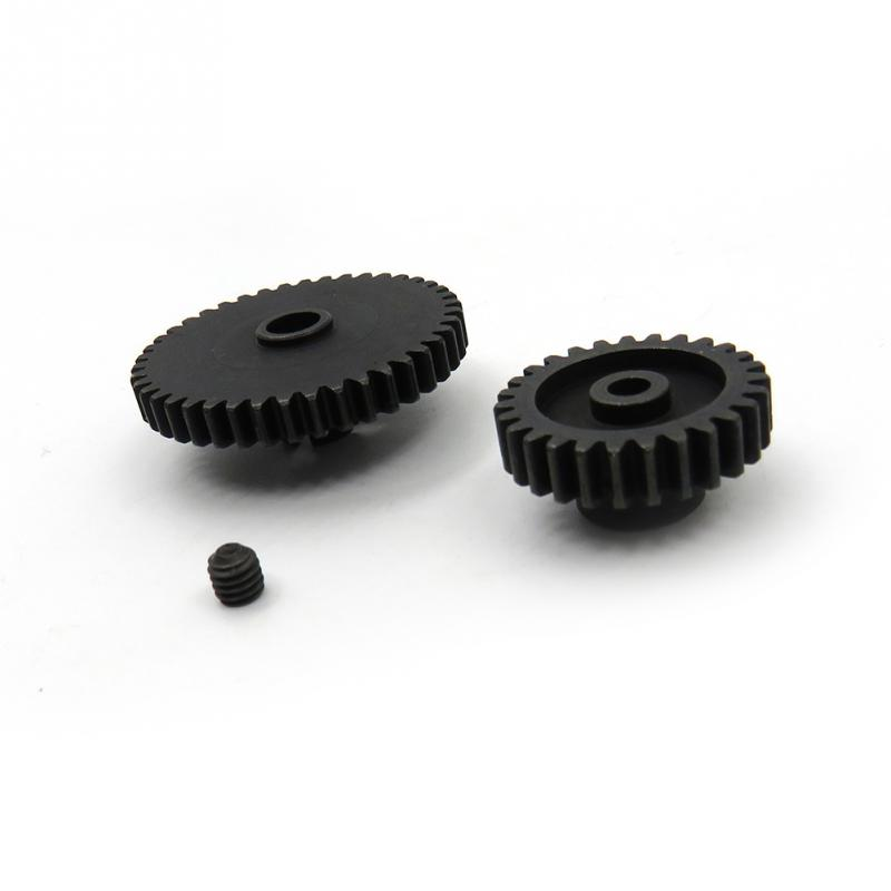 Metal Upgrade Parts Motor Pinion Gear Reducer Set for Wltoys A949 A959 A969 A979 K929 RC Car
