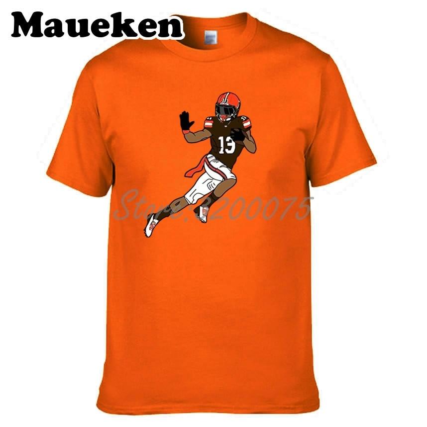 f31e0031e Men Odell Beckham Jr. 13 T-shirt Clothes T Shirt Men s tshirt for Cleveland