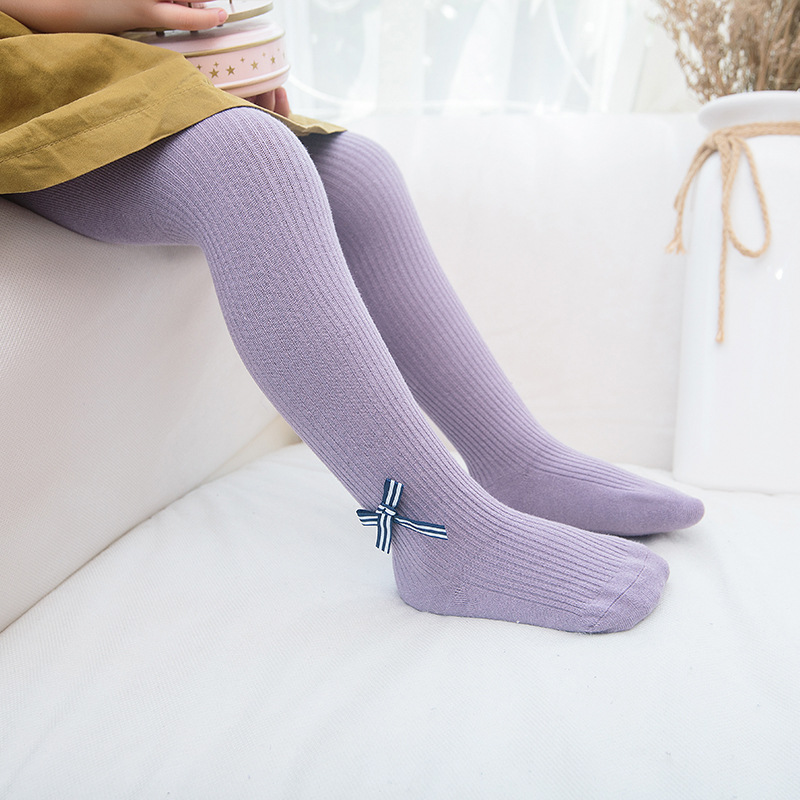 0 2y Baby Infant Girl Boy Knitted cotton warm Tights nature color children Pantyhose baby fashion pantyhose in Tights from Mother Kids