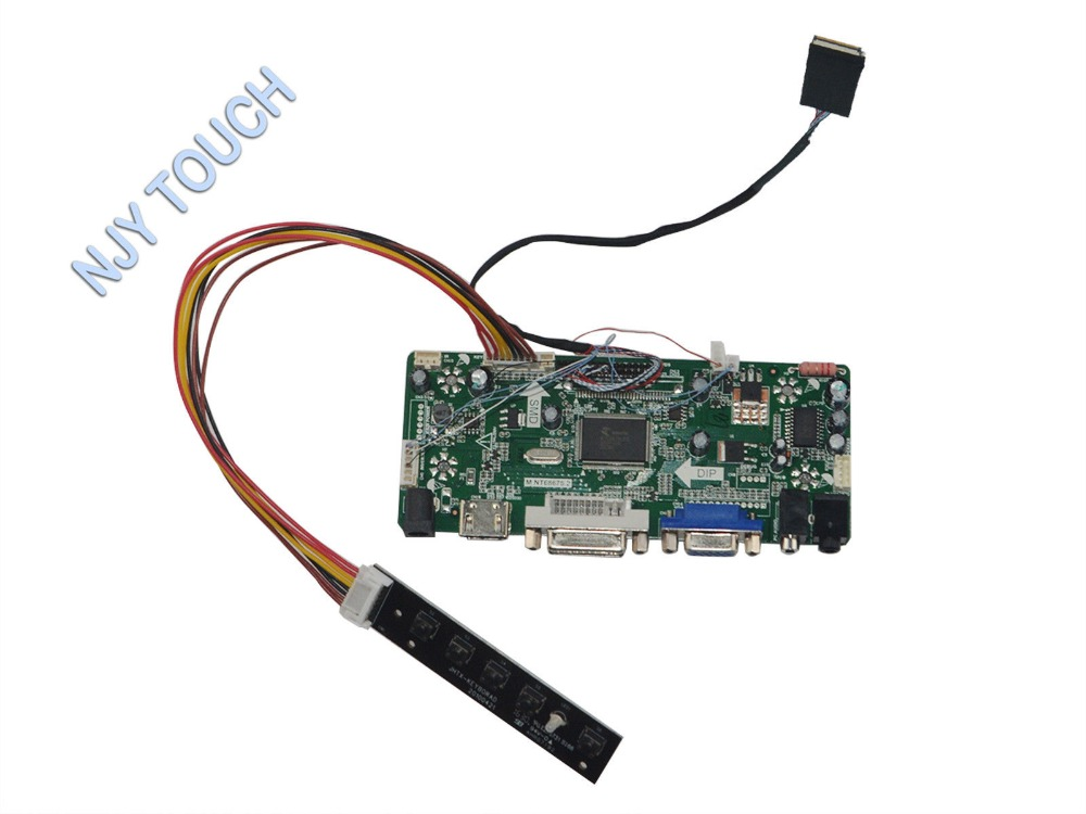 US $30 39 5% OFF|HDMI DVI VGA Audio 1024x600 LCD Controller Board for ASUS  EeePC 900 901B089AW01 LP089WS1 TLA1 8 9 inch TFT LCD-in Replacement Parts &