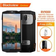 Blackview BV9000 Оригинал 5,7 «IP68 Водонепроницаемый смартфон 4 GB + 64 GB Восьмиядерный 4180 mAh 13.0MP 4G Прочный противоударный мобильного телефона