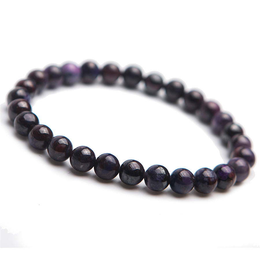 South Africa Genuine Natural Sugilite Gems Stone Crystal Bead Stretch Charm Women Bracelet 7mm 8mm genuine natural purple sugilite crystal beads women lady fashion gems stone jewelry stretch bracelet
