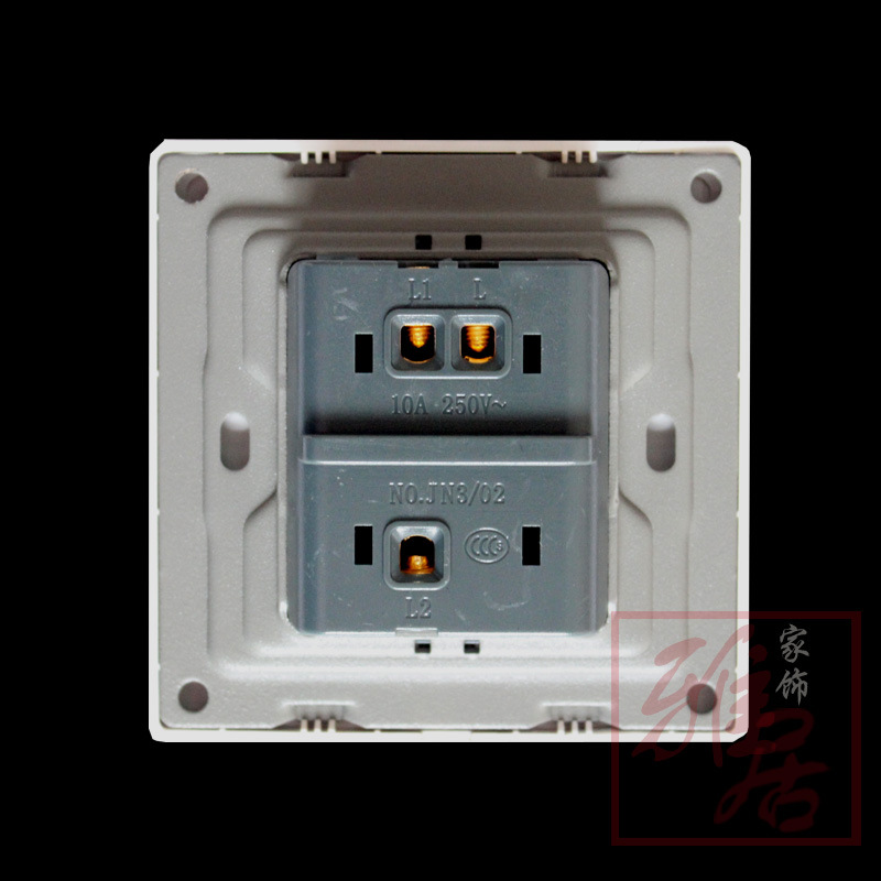 rushed interruptor de luz touch simon switch socket champagne gold carved panel a double open