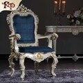 Античный ручной работы мебель-ручной работы в стиле барокко обеденный стул