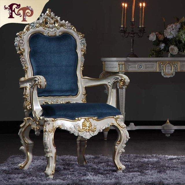 Incroyable Antique Hand Carved Furniture   Baroque Handcraft Dining Room Chair