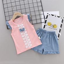 Compara Precios En Girls Set Baby Kids Lace Ruffles Compra