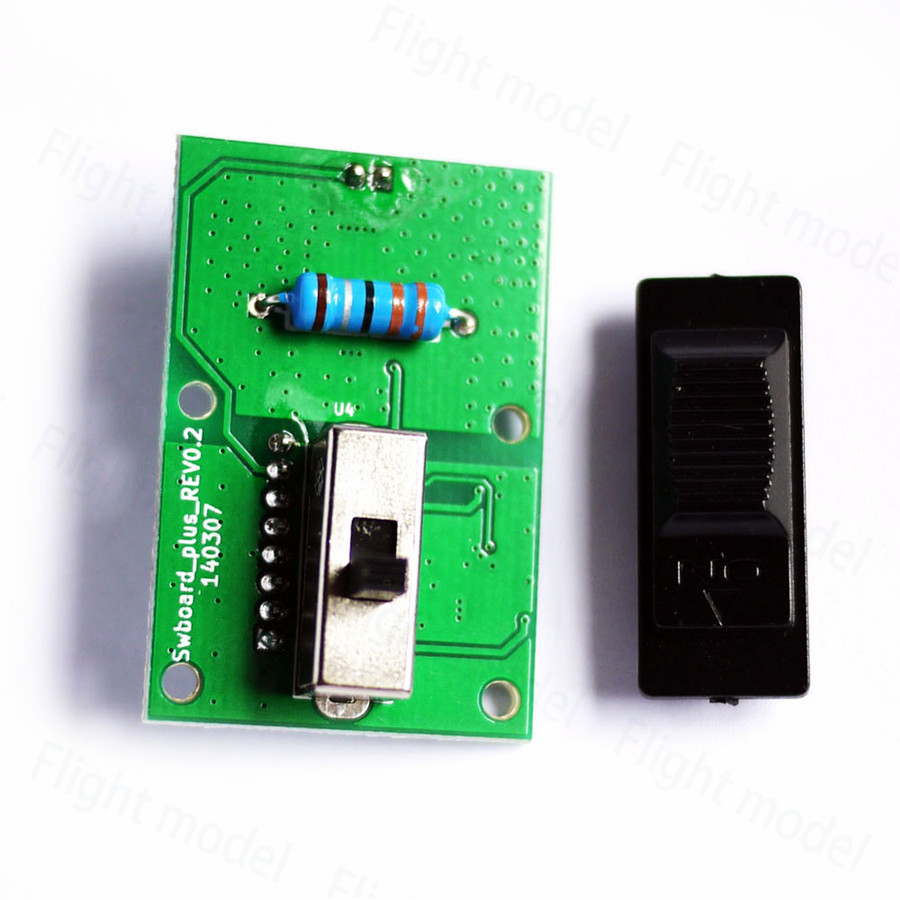 FrSky X9D Plus Transmitter Parts Power Switch Module for RC model Radio Controller image
