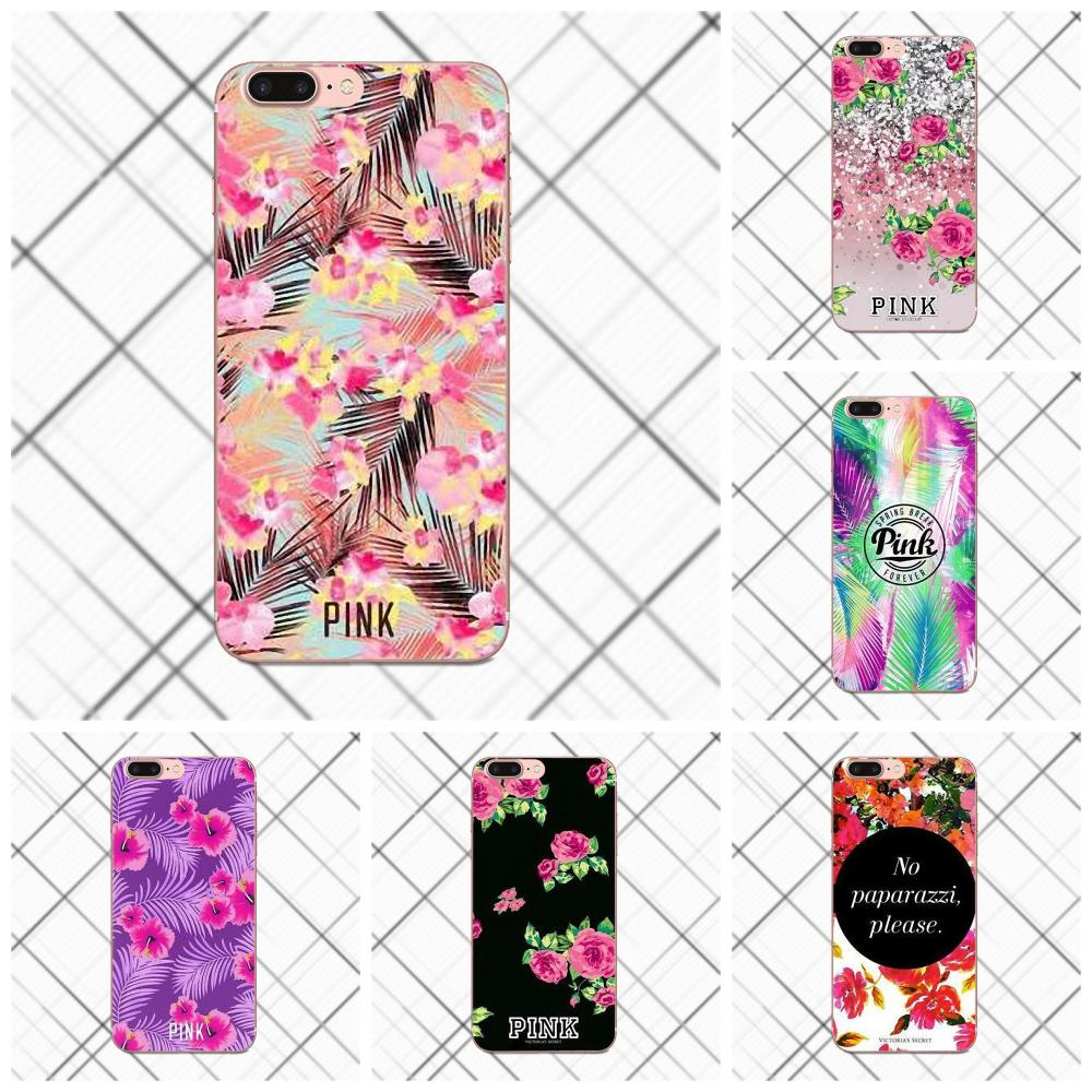 Tpwxnx Vs Flower Pattern TPU Cell Case For Apple iPhone X 4 4S 5 5C 5S SE 6 6S 7 8 Plus