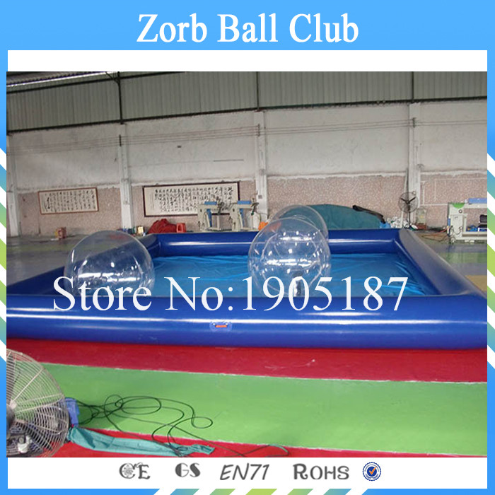 Free Shipping 10x6m Inflatable Pool ,Big Inflatable Swimming Pool For Water Walking Ball
