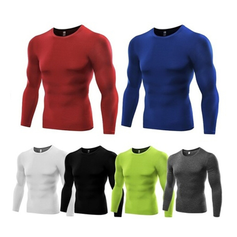 Mens Fitness Short Sleeve Rashguard T-Shirt Bodybuilding Skin Tight-Drying Tops Green