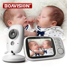 VB603 Video Baby Monitor 2.4G Wireless With 3.2 Inches LCD 2 Way Audio Talk Night Vision Surveillance Security Camera Babysitter(China)