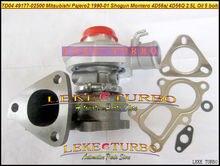 TD04 49177-02500 Oil Cooled outlet 5 holes Turbo Turbocharger For Mitsubishi Pajero II 1990-01 SHOGUN MONTERO 4D56SJ 4D56Q 2.5L