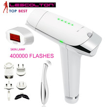 Lescolton IPL Laser Epilator Hair Removal Permanent Body Face Bikini Trimmer Electric Depilador a Laser For Women with Free Gift цена и фото
