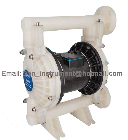 HIGH qualty Double  Way  Ink and Glue PP Pneumatic  Diaphragm Pump BML-25P double color high pressure ink diaphragm pump aluminum alloy two way pneumatic diaphragm pumps