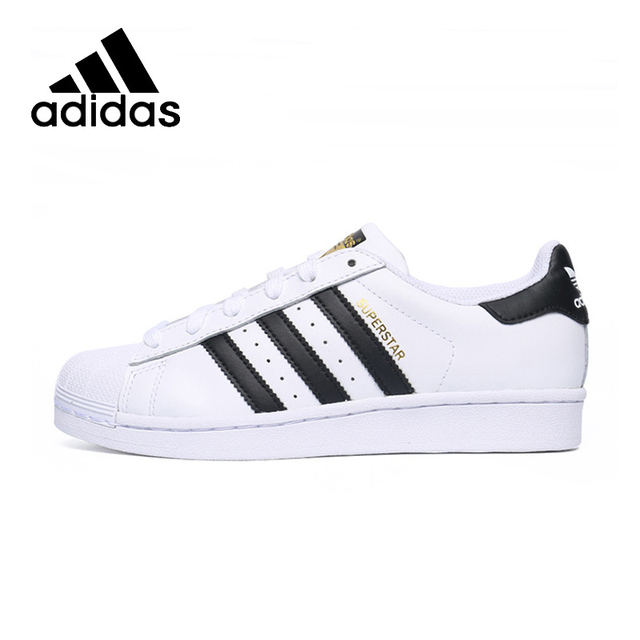 ADIDAS Original New Arrival Superstar Mens Golden Logo Skateboarding Shoes  Footwear Super Light Stability For Men