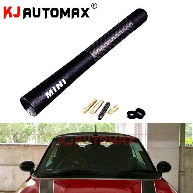 For Mini Cooper Carbon Fibre Fiber Car Styling Roof Antenna Aerial R50 R53 R55 R56 R57 R58 R59 R60 F55 F56 Accessories
