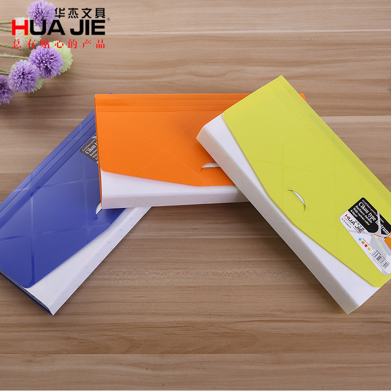 1PCS 6 Layer Expanding Wallet Size 361x138mm Portable File Package School & Offic Document Classification Stationery