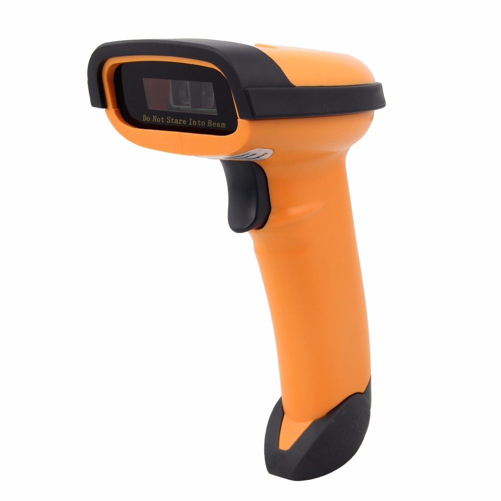 Hanheld 2D QR Barcode Scanner Reader DataMatrix PDF417 Bar Code Mobile Payment Computer Screen Virtual COM