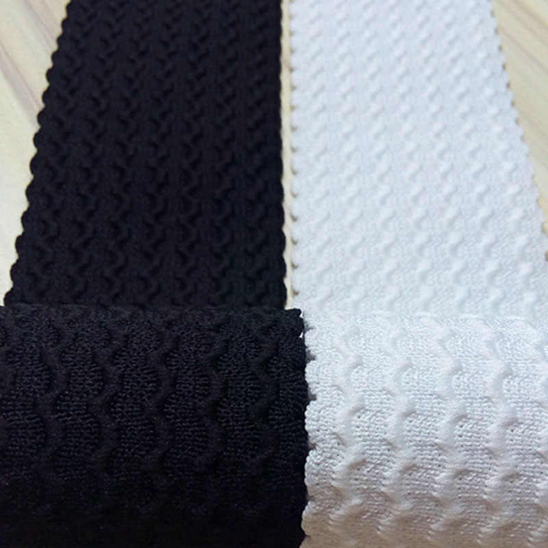2meters 6cm Width Clothing Elastic Band White Black Delicate Lace Trim Stretch Net Lace DIY Handmade Accessories Sewing Material