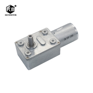 6V 12V 24V 2RPM to 150RPM DC Worm Drive Reduction Gear Motor Low Speed for DIY Gearmotors JGY370 Worm Gearmotor 12V(China)
