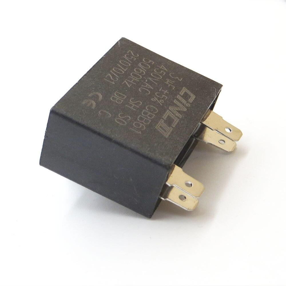 ZuverläSsig Run Kondensator Draht Sh Db Polypropylen Film Ac 450vac 120 Uf 400 V 450 V Cbb60 Motor Wasserpumpe Elektrische Motor 120mfd 120mf Home