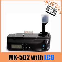 MeiKe MK 5DIIL MK 5D2 5D Mark II With LCD Battery Grip For Canon 5D Mark