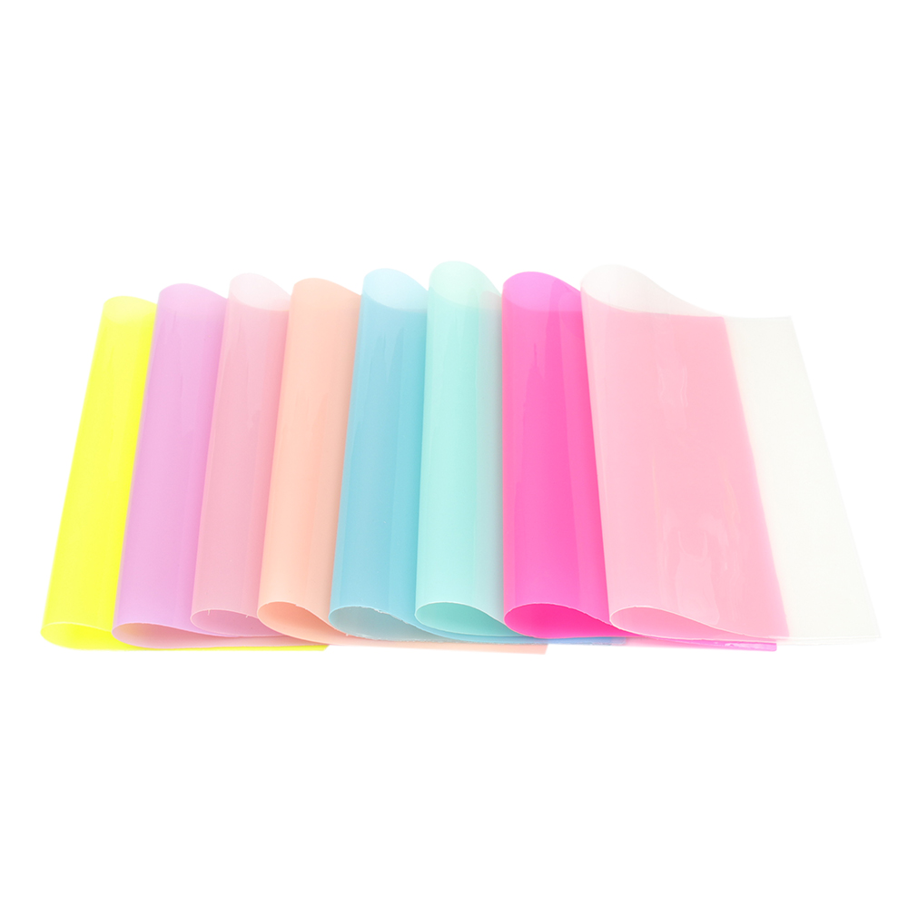 Glossy Plain PVC Waterproof Vinyl Fabric Sheet Plastic Shoe Case Cover Material