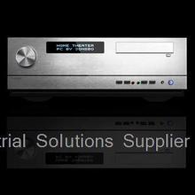 Htpc g2 silver plain large-panel big power supply volume knob external hard drive