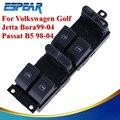 Auto Ruede Para Arriba Cierre Del Módulo Del Coche Interruptor Maestro Panel Ventana Más Cercana de Control Para VW Jetta Golf MK4 Passat B5 B5.5 1998-2004 #9110