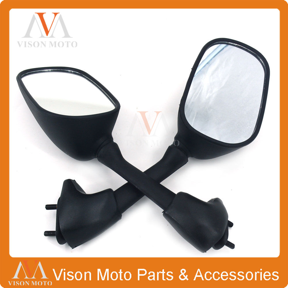 Motorcycle Side Mirror Rearview Rear View For YAMAHA YZFR1 YZF-R1 YZF R1 2007 2008 07 08 motoo free shipping for yamaha yzf r1 r1 2007 2008 motorcycle front light headlight upper bracket pairing
