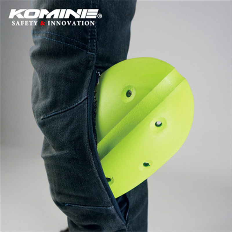 KOMINE Japanese Original Anti fall Jeans Motorcycle Jeans Outdoor Pants Riding Knee Pads Jeans Motorcycle Protection for Harley in Trousers from Automobiles Motorcycles