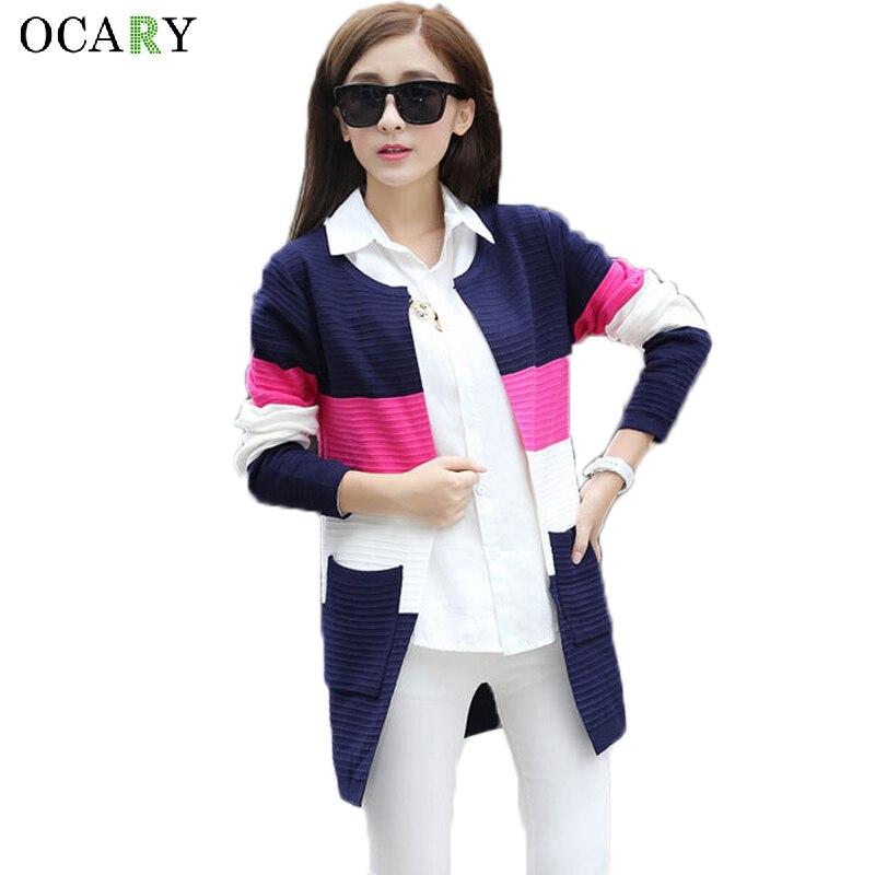 e6143f742 Femmes élégantes chandails printemps été Cardigans fins tricoté Long  Cardigan coton Haut Femme Ete Blusas Gilet taille XL