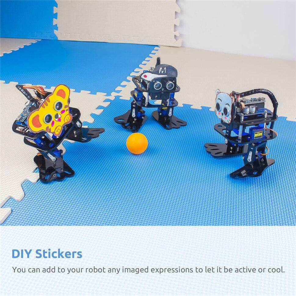 SunFounder DIY 4-DOF Robot Kit -Sloth Learning Kit for Arduino Nano DIY Robot (6)