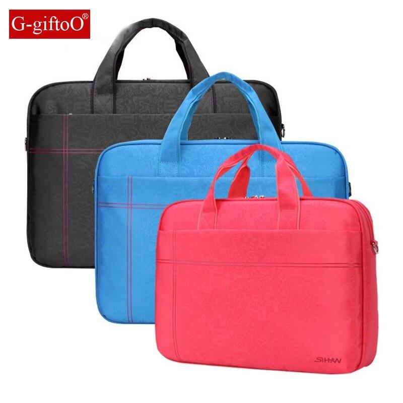 Laptop bag Shockproof airbag waterproof computer bag men and women luxury thick Notebook bag 2017 new
