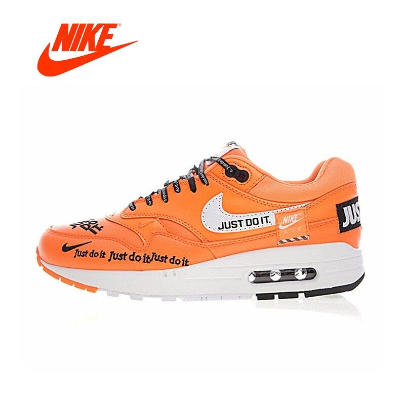 Кроссовки NIKE Air Max 1 Для мужчин кроссовки Спорт на открытом воздухе обувь классические кроссовки противоскользящие Дизайнер низкой Одежда в