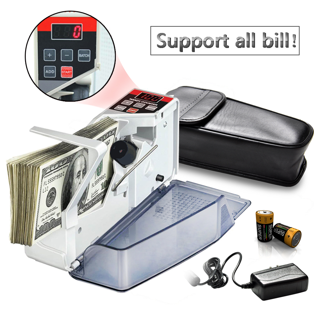 Mini Portable Handy Money Counter for most Currency Note US/EU Bill Cash Counting Machine Financial Equipment mini portable handy money counter for most currency note us eu bill cash counting machine financial equipment