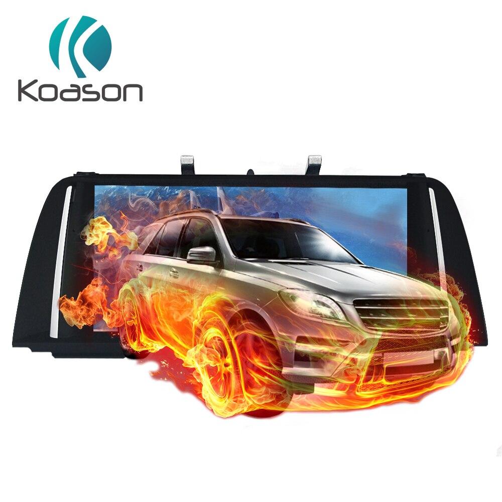 Lecteur multimédia de voiture Koason Android 7.1 pour BMW série 5 F10 F11 2013-2017 système Original NBT audio vidéo Navigation GPS