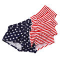 4PCS Wholesale Sexy Men USA Flag Boxer Stripe Breathable Boxer Star Jockstrap Bermudas Masculina De Marca Sexy Ondergoed