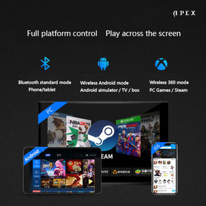 Image 2 - Flydigi pubg somatosensorial mobil denetleyici Bluetooth kablosuz gamepad denetleyici desteği bilgisayar mobil oyun sistemi joystick