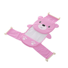 Baby Care Adjustable Infant Shower Bath Bathing Bathtub Net Mesh Seat Support