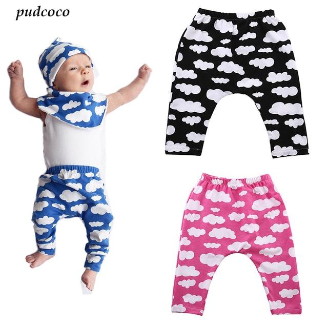 30a212a6b5e2 3 Colors Toddler Kids Boys Girl Cute Fashion Cloud Pants Baby Boy ...