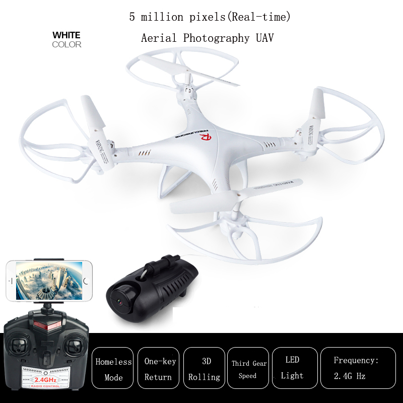 XMX New Dream Real-time transmission RC aircraft 2.4G super HD Quadcopter  four axis aircraft UAV RC Drone Helicopter yizhan i8h 4axis professiona rc drone wifi fpv hd camera video remote control toys quadcopter helicopter aircraft plane toy