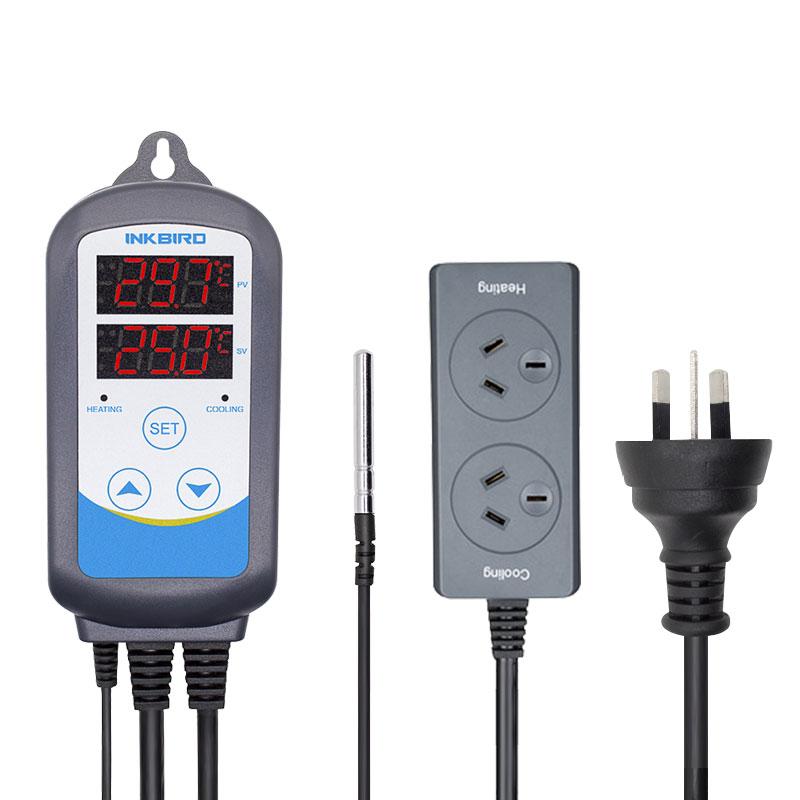 Inkbird 12 period Timer Stage US EU AU UK Socket ITC 310T B Digital Heating Cooling