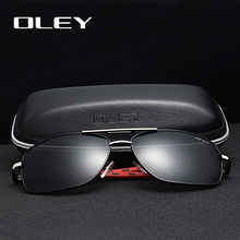 OLEY Brand Men Aluminum Sunglasses Polarized UV400 Mirror Male Sun Glasses Women For Oculos de sol Summer goggles Y7613