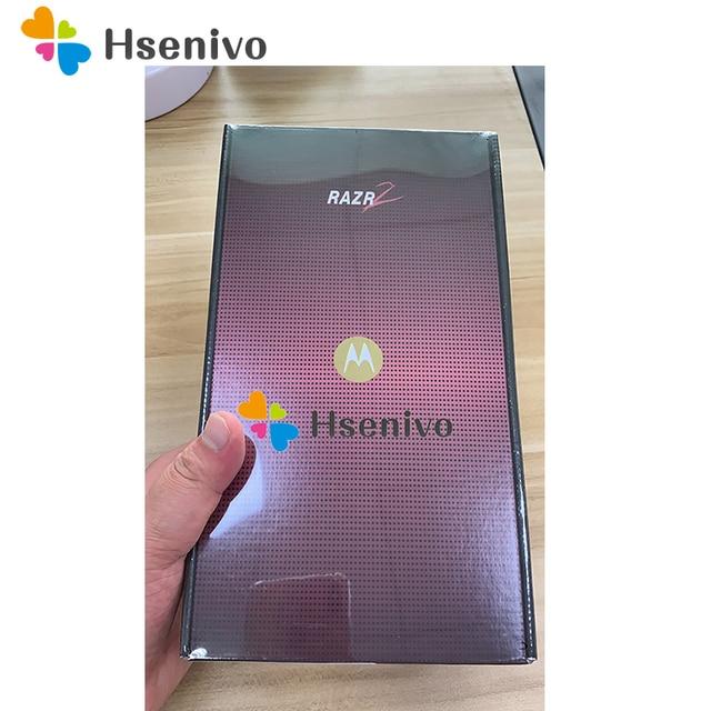 "In sealed box~100% Original Motorola RAZR2 V9 Mobile phone 2.2"" 3G 2.0MP GSM WCDMA Flip Cellular Phone Free shipping"