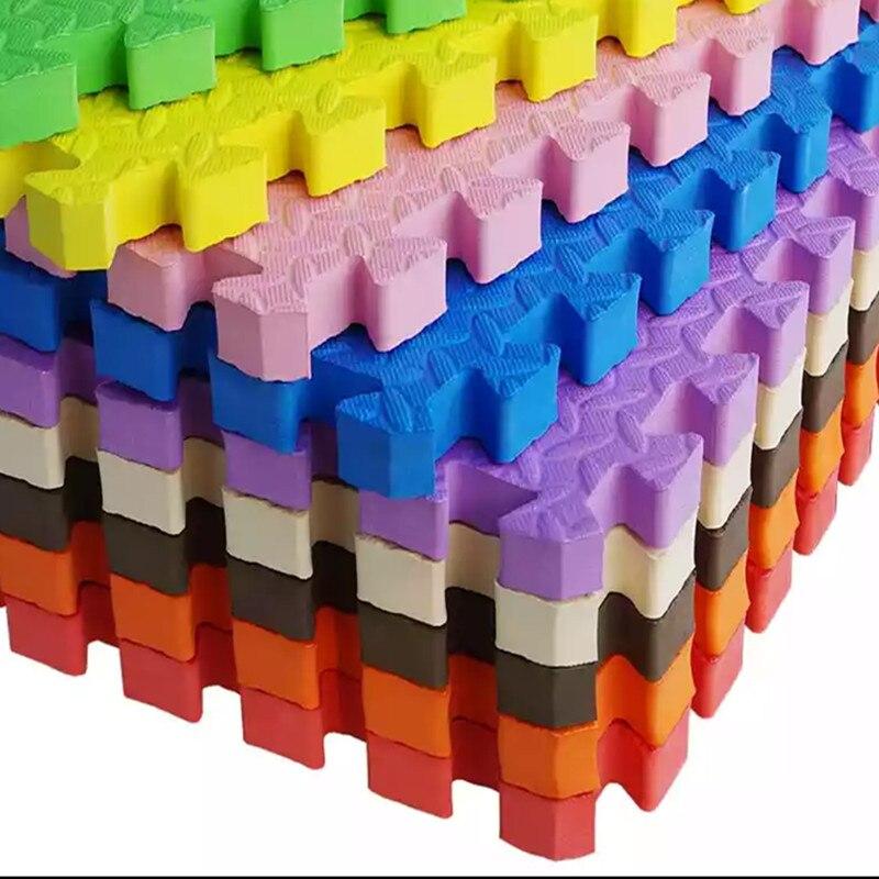 Бесплатная доставка детская пена EVA pad детская ползучая утолщение сращивания мягкой поверхности размером 30 см * 30 см 2.5 см толщина