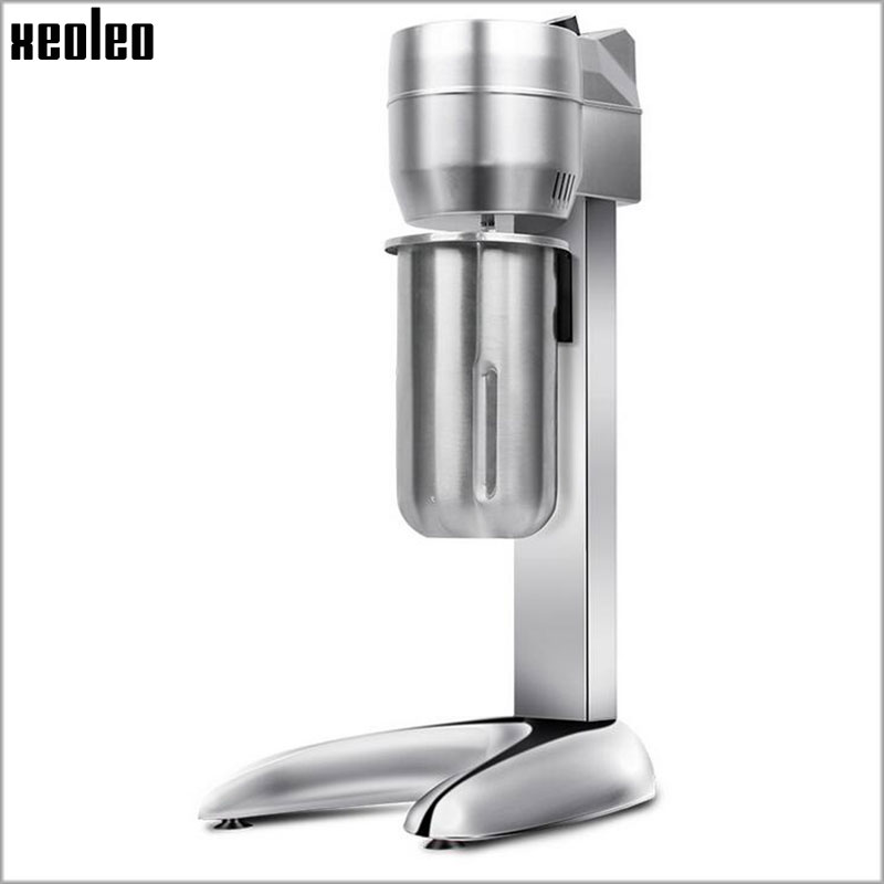 Xeoleo Milk Shake machine Single cup Milkshaker Milk shake stirring machine Beverage Mixing with Double cups 2200 rpm/min milk shake maker stainless steel milkshaker stirring machine beverage mixing blender with double cups zf